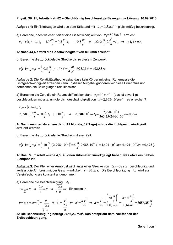 Lösung zum Arbeitsblatt 02 \