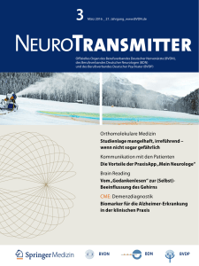NeuroTransmitter vom April 2016