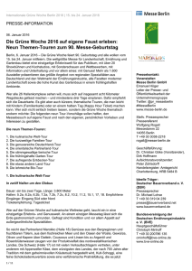 PDF-Download - Internationale Grüne Woche