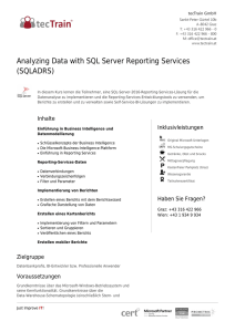 Analyzing Data with SQL Server Reporting Services