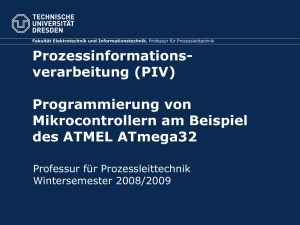 Hier steht der Titel der Power Point Präsentation.