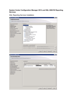 System Center Configuration Manager 2012 und SQL 2008 R2