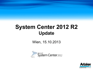 System Center 2012 R2 Update
