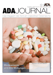 ADA Journal 1/2012 - Aktive Diabetiker Austria