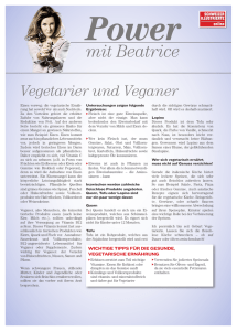 Gratis-Download: «Vegetarier und Veganer