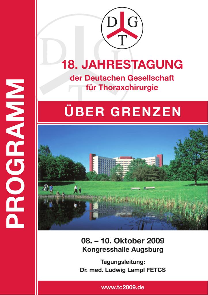 Programm-Inhalt 2006 - Deutsche Gesellschaft für Thoraxchirurgie