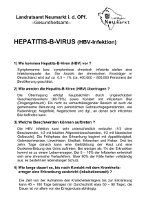 HEPATITIS-B-VIRUS (HBV-Infektion)