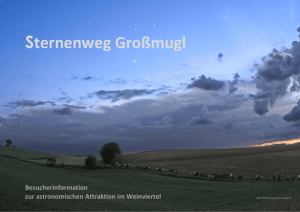 Sternenweg Großmugl - Project Nightflight
