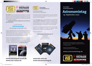 5. Astronomietag Flyer.indd