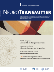 NeuroTransmitter vom Januar 2010