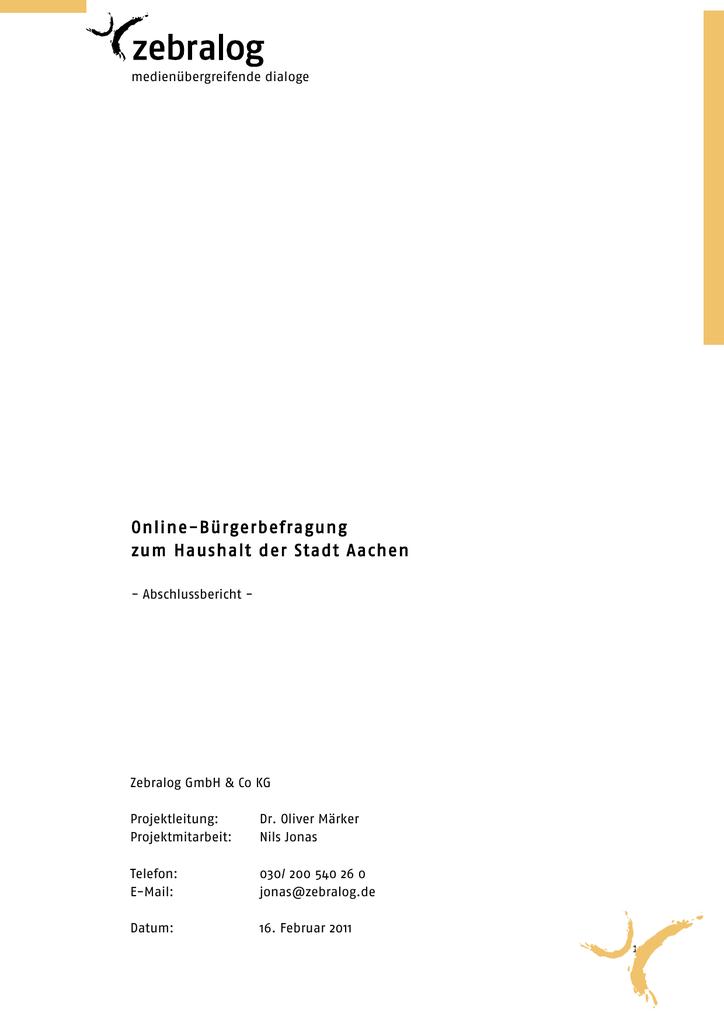 Weihnachtsgrüße Für Putzfrau.Abschlussbericht Bürgerbefragung Zum Haushalt 2011