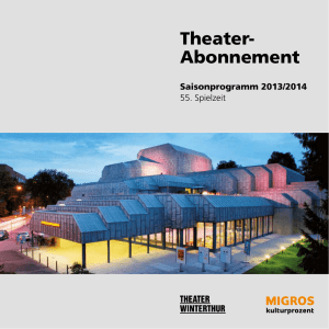 Theater- Abonnement