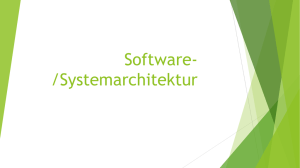 Softwarearchitektur