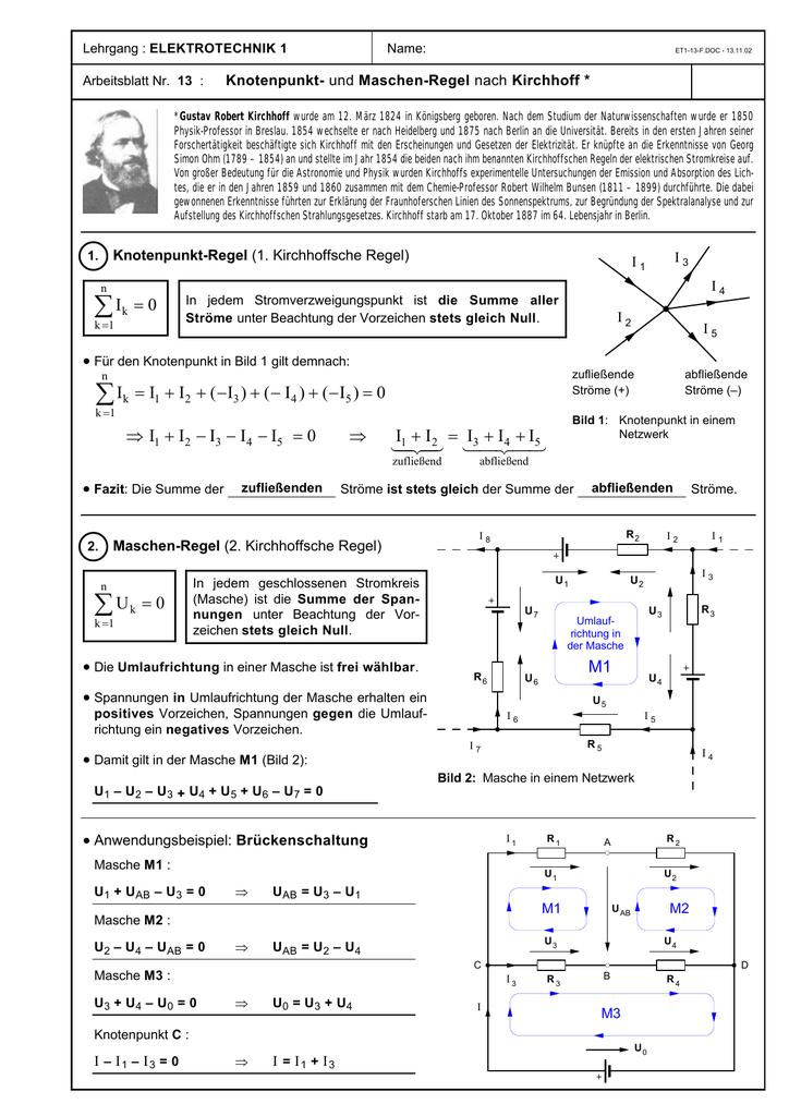Lehrgang Elektrotechnik 1