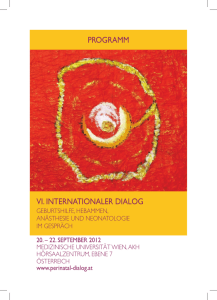 programm vi. internationaler dialog