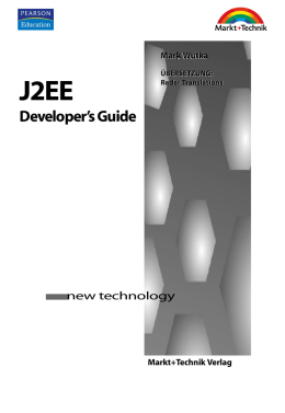 J2EE Developer`s Guide