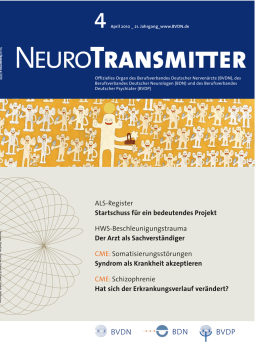 NeuroTransmitter vom April 2010
