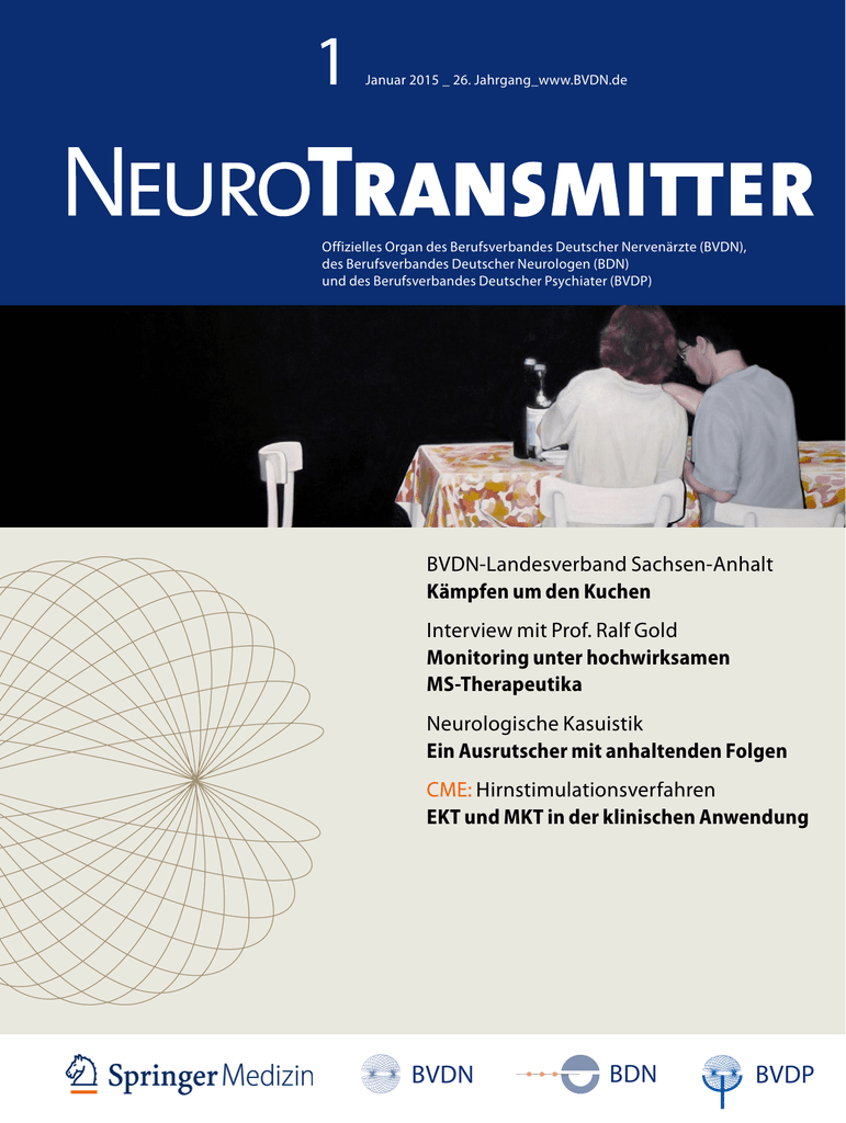 NeuroTransmitter vom Januar 2015