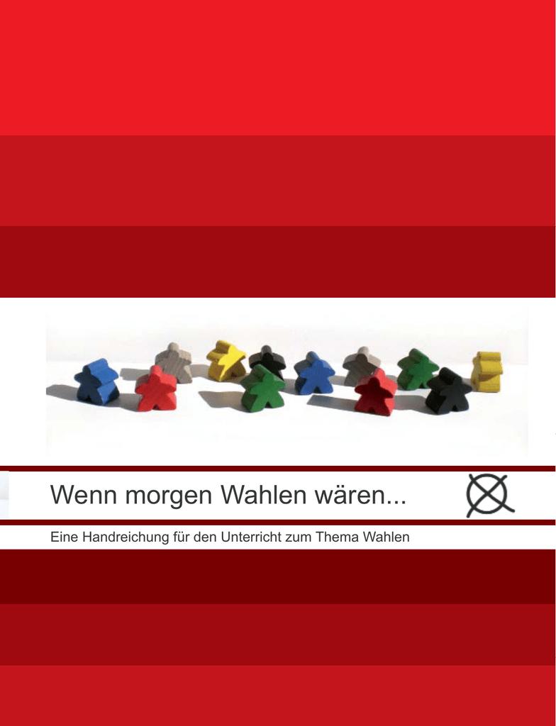 Wenn morgen Wahlen wären... - Wuppertaler Initiative für