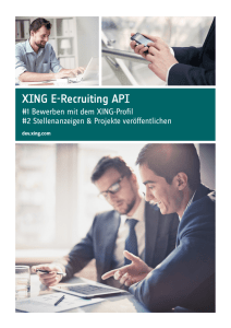 XING E-Recruiting API