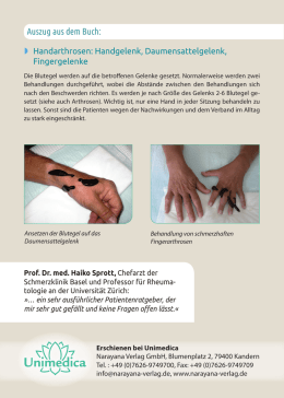 Informationsflyer Patientenratgeber