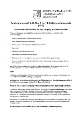 infektionsschutzgesetz belehrung frankfurt