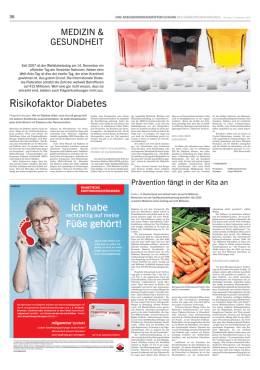 Risikofaktor Diabetes 11/2016