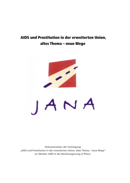 AIDS und Prostitution in der erweiterten Union, altes Thema