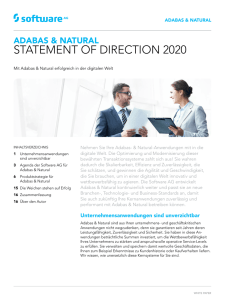 statement of direction 2020