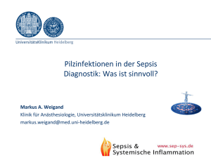 Weigand_Diagnostik Pilzinfektionen