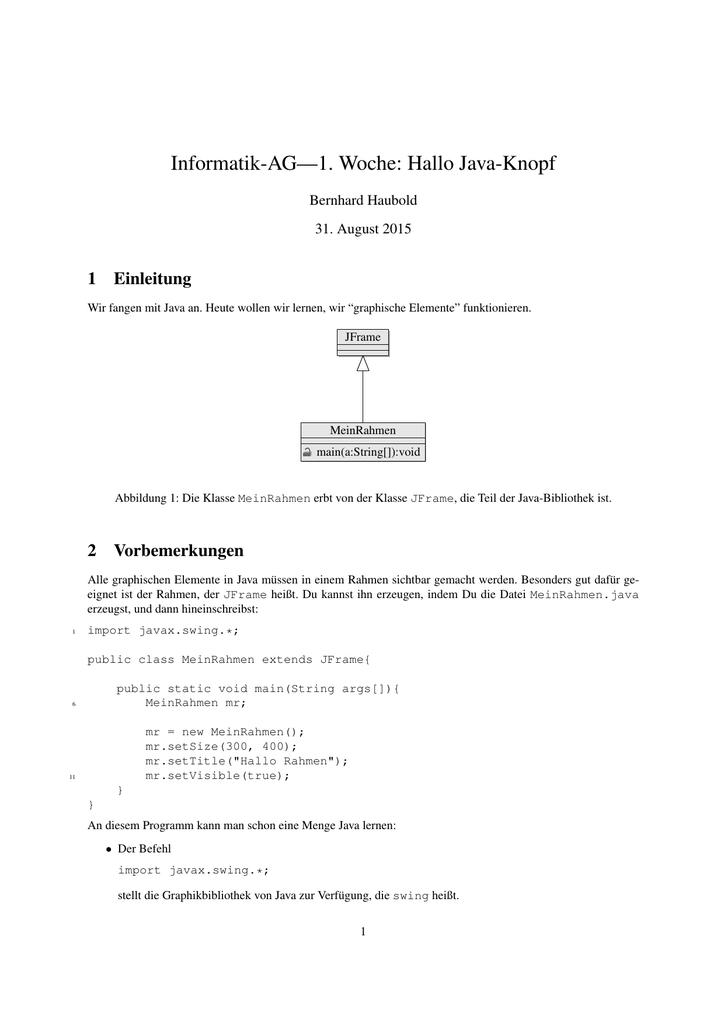 Erfreut Java Gui Rahmen Zeitgenössisch - Benutzerdefinierte ...