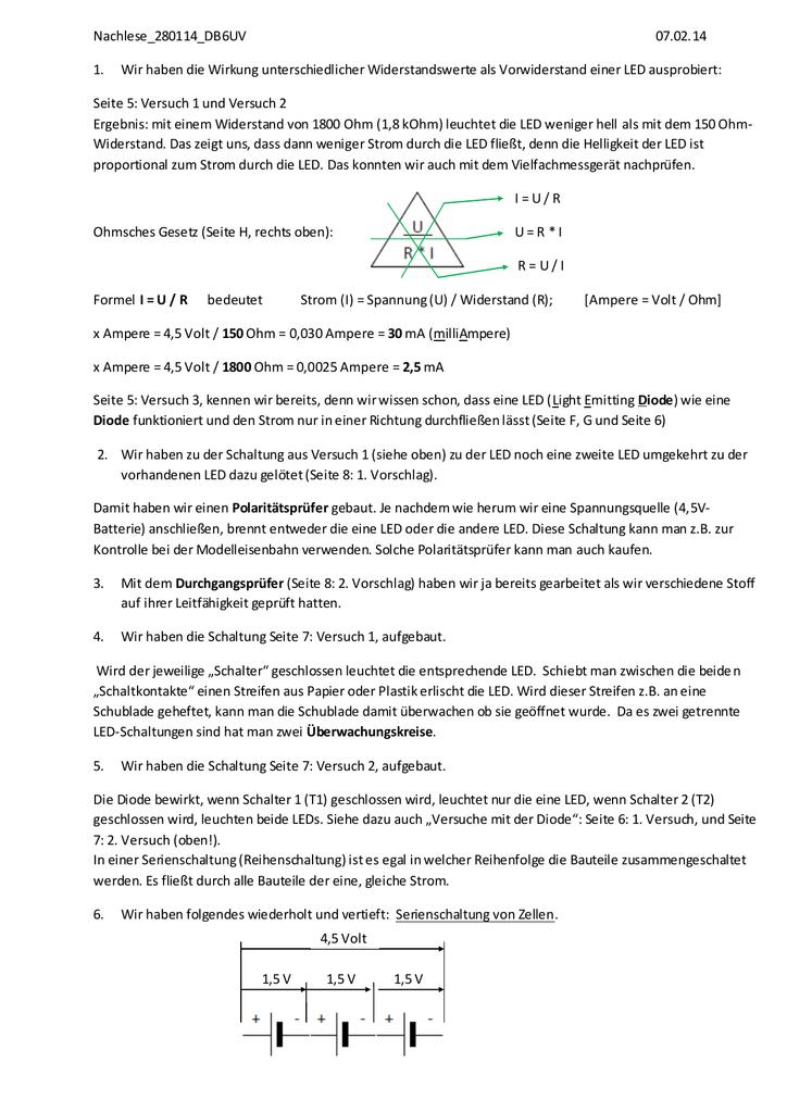 Großartig Haushaltslichtverkabelung Ideen - Der Schaltplan ...