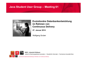 Continuous Delivery - Java Student User Group Austria