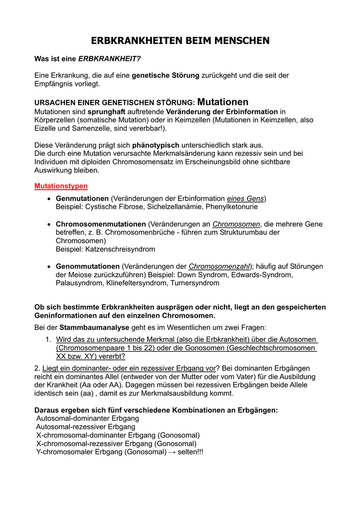 Beste Chromosomale Mutationen Arbeitsblatt Ideen - Mathe ...