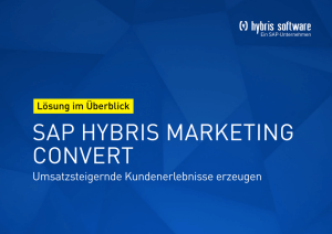 sap hybris marketing convert