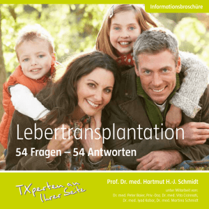 Lebertransplantation