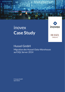 "Case Study ""Migration des Data Warehouse auf SQL Server 2014"