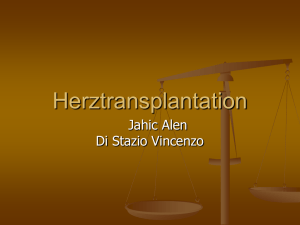 Herztransplantation