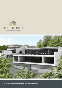 les terrasses - INTEGRAL Baumanagement AG
