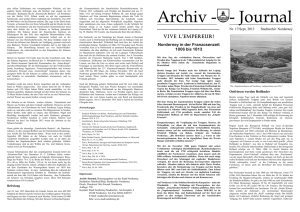 Archiv - - Journal