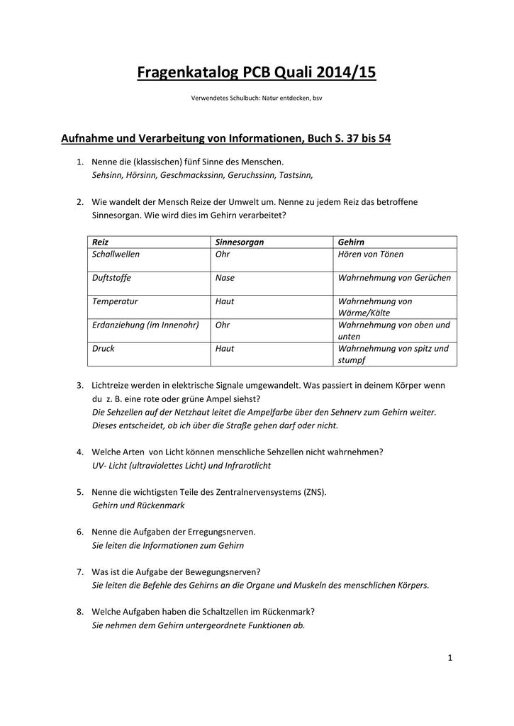 Fragenkatalog PCB Quali 2014/15