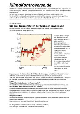 folgen globaler erwärmung