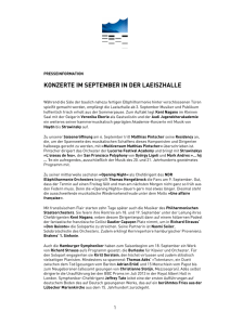 konzerte im september in der laeiszhalle