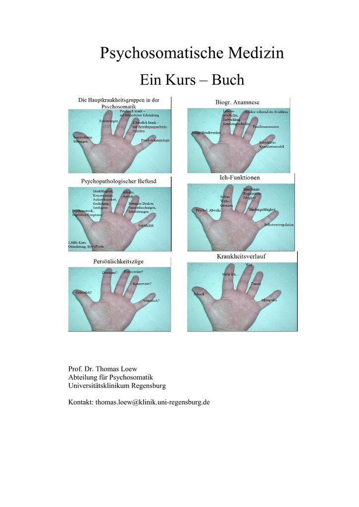 Handout - Universitätsklinikum Regensburg
