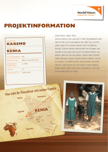 projektinformation - Mein World Vision