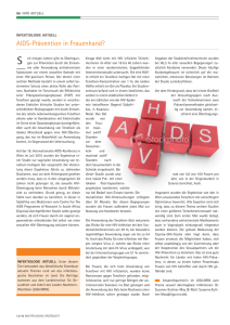 AIDS-Prävention in Frauenhand?