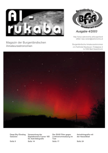 Geringe - Homepage of burgenland.astronomie.at
