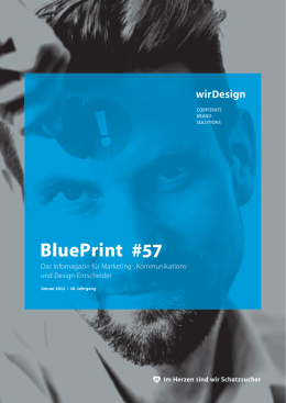 BluePrint 01/2012 - wirDesign communication AG