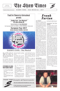 DADDY COOL - THE SHOW TIMES - Frank Serr Showservice Int.
