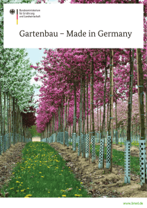 Gartenbau – Made in Germany